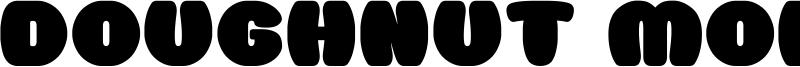 Doughnut Monster G Font