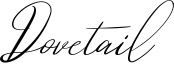 Dovetail Font