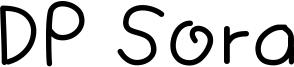 DP Sora Font