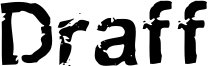 Draff Font