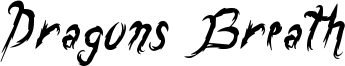 Dragons Breath Font