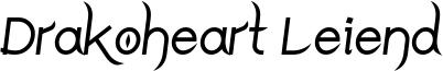 Drakoheart Leiend Bold Italic.ttf