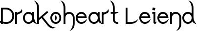 Drakoheart Leiend Bold.ttf