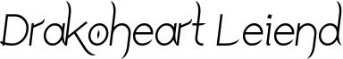 Drakoheart Leiend Italic.ttf
