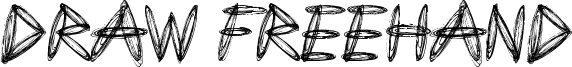 Draw Freehand Font