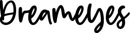 Dreameyes Font