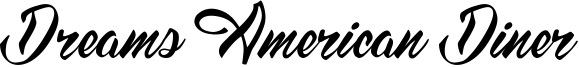 Dreams American Diner Font
