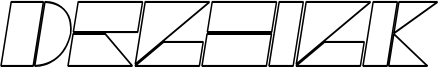 Drebiek Expanded Outline Italic.otf