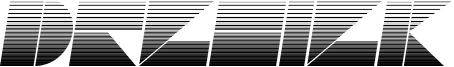 Drebiek Expanded Stripes Italic.otf