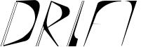 Drift Font