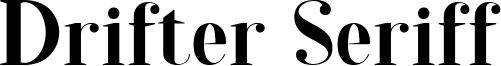 Drifter Seriff Font