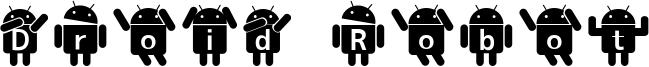 Droid Robot Font