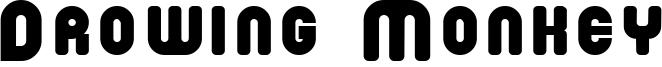 Drowing Monkey Font