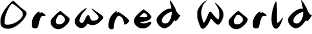 Drowned World Font