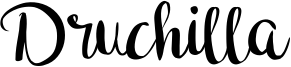 Druchilla Font