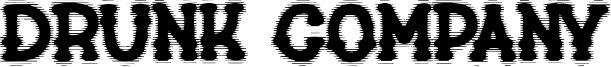 Drunk Company Font