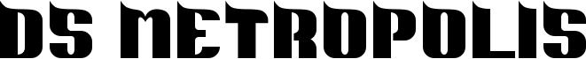 DS Metropolis Font