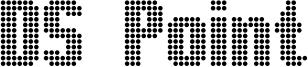 DS Point Font