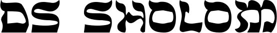 DS Sholom Font