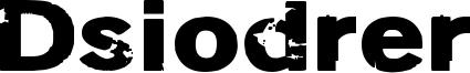 Dsiodrer Font