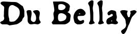 Du Bellay Font