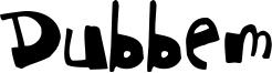 Dubbem Font