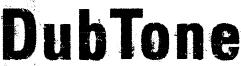 DubTone Font