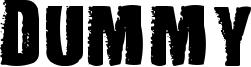 Dummy Font
