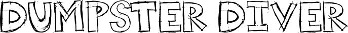 Dumpster Diver Font