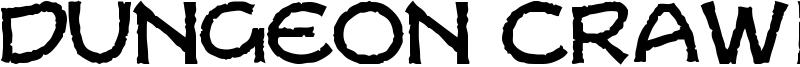 Dungeon Crawler CB Font