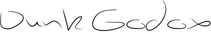 Dunk Godox Font
