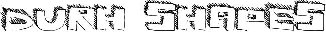 Durh Shapes Font