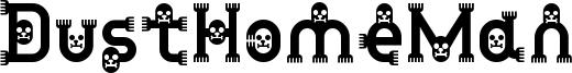 DustHomeMan Font