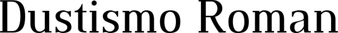Dustismo Roman Font
