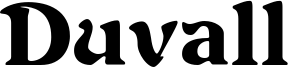 Duvall Font