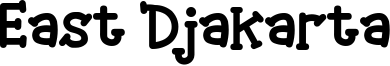 East Djakarta Font