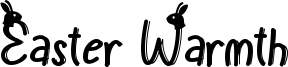 Easter Warmth Font
