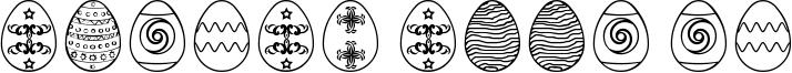 Easter Eggs ST Font