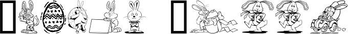 Easter Hoppy Font