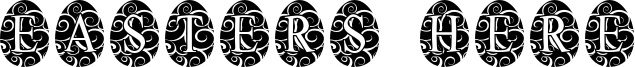 Easters Here Font