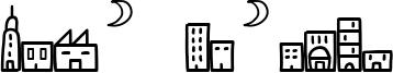 Easy Skyline Font