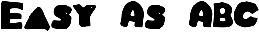 Easy As ABC Font