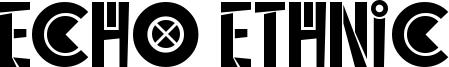 Echo Ethnic Font
