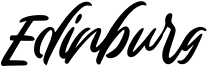 Edinburg Font