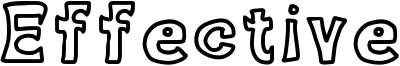 Effective Font