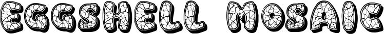 Eggshell Mosaic Font