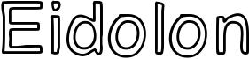 Eidolon Font