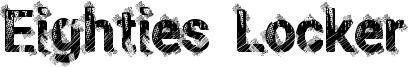 Eighties Locker Font
