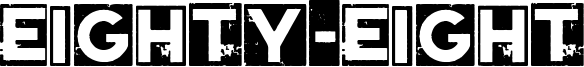 Eighty-Eight Font