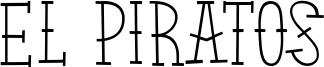 El Piratos Font
